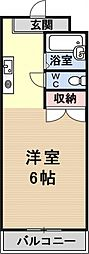 プリマベーラ瀬田[305号室号室]の間取り