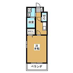 仮) クレドール京都洛南[5階]の間取り