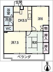 プラムガーデンKATO'94[1階]の間取り
