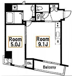 新築 セルカエスタシオン[3階]の間取り