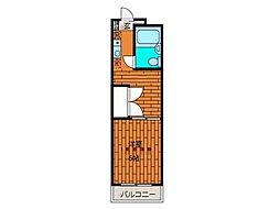 タプラ文京[3階]の間取り