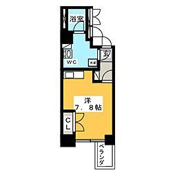 レジデンス千代田[10階]の間取り