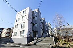北海道札幌市白石区栄通13丁目の賃貸マンションの外観
