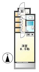 UNOEビル[2階]の間取り