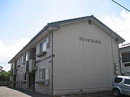 佐賀県唐津市山下町の賃貸アパートの外観