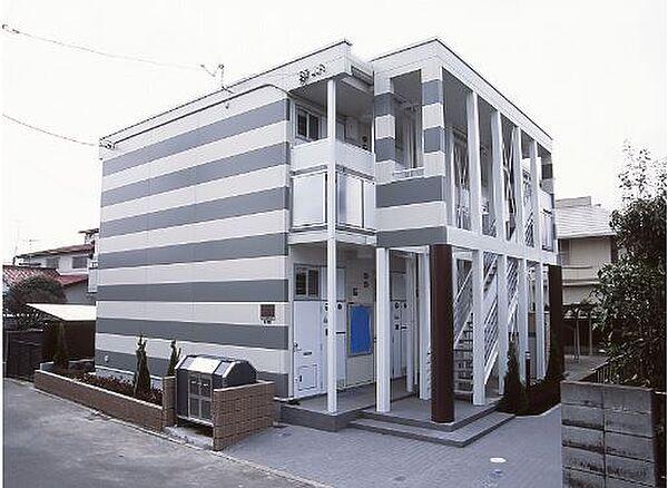 コートサイドD[2階]の外観