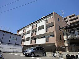 京都府京都市右京区梅津南広町の賃貸マンションの外観