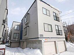 北海道札幌市中央区南八条西7丁目の賃貸アパートの外観