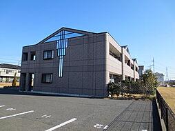 茨城県ひたちなか市田中後の賃貸アパートの外観