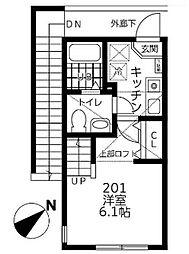 仮)シティハイツ相模が丘[201号室]の間取り