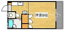 クリスタルハーモニー[4階]の間取り