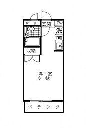 リバティームラヤマ[306号室号室]の間取り