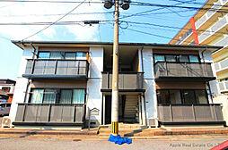 福岡県北九州市戸畑区三六町の賃貸アパートの外観