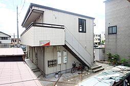 広島県広島市南区宇品御幸2丁目の賃貸アパートの外観