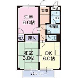 Uハウス[1階]の間取り