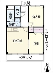 メゾン・ド・SWEETII[3階]の間取り