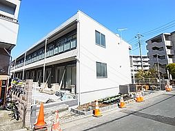 東京都足立区江北2丁目の賃貸アパートの外観