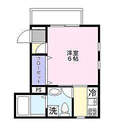 東京都江東区大島7丁目の賃貸マンションの間取り