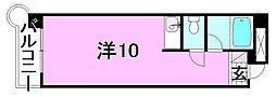 アメニティユー[301 号室号室]の間取り