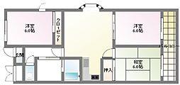 Casa Azul[1階]の間取り