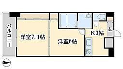 No.65 クロッシングタワー ORIENT BLD.[1907号室]の間取り