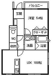 [タウンハウス] 大阪府大阪市鶴見区緑1丁目 の賃貸【/】の間取り