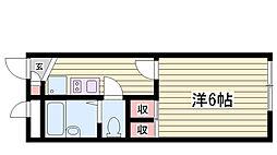滝の茶屋駅 3.8万円