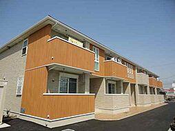 滋賀県草津市木川町の賃貸アパートの外観