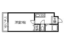 モン・エスパシオ松ヶ崎[1階]の間取り