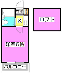 LH宮戸[1階]の間取り