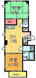 MEハウス[2階]の間取り