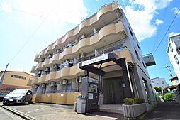 宮城県仙台市若林区二軒茶屋の賃貸マンションの外観