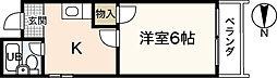 ピーシングKIII[5階]の間取り