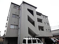 愛媛県松山市南江戸2丁目の賃貸マンションの外観