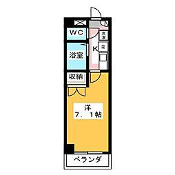 CS平田[5階]の間取り