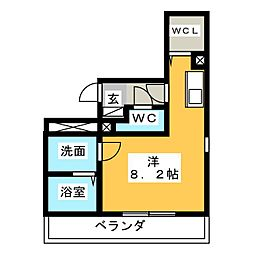 Blooming春日井[1階]の間取り