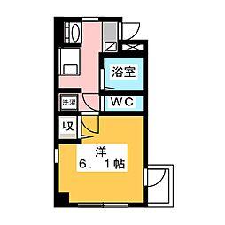 Especia Hana V[3階]の間取り