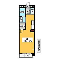 エクセラ桜山[3階]の間取り