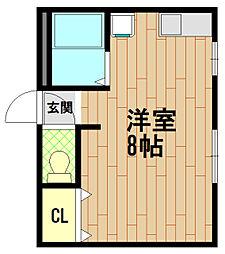 大塚コーポ[3階]の間取り
