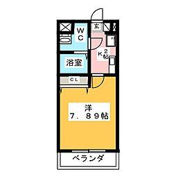 アステール鴻之台[2階]の間取り
