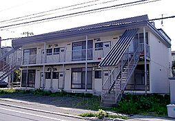 北海道小樽市緑1丁目の賃貸アパートの外観