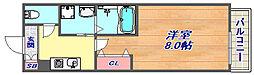 グランドコート六甲[3階]の間取り