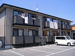 広島県福山市高西町南の賃貸アパートの外観