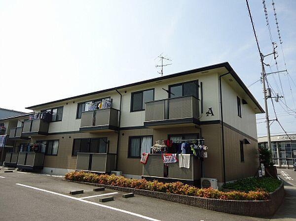 カルフール松本A 2階の賃貸【愛媛県 / 伊予市】