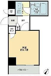 東京都葛飾区東新小岩2丁目の賃貸マンションの間取り