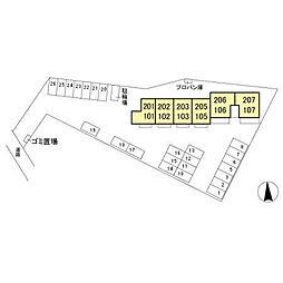 エルハーベン[1階]の外観