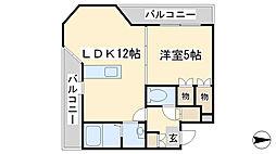 ロイヤルセンターBLD[2階]の間取り