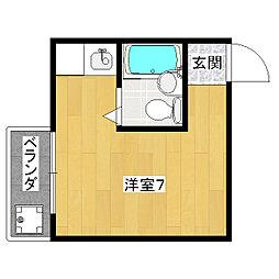 ドミール東野[3階]の間取り