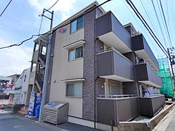 千葉県習志野市実籾5丁目の賃貸アパートの外観