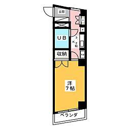 エトワール青森第1[4階]の間取り